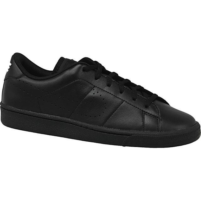 3b6660fe85ea6 Nike - Tennis Classic Prm Gs 834123-001 Noir - pas cher Achat   Vente Baskets  enfant - RueDuCommerce