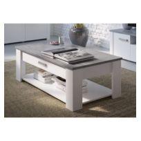 Table Basse Blanc Et Gris Achat Table Basse Blanc Et Gris Rue Du