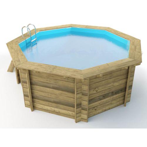 soldes habitat et jardin piscine bois verona x m pas cher achat vente piscines. Black Bedroom Furniture Sets. Home Design Ideas
