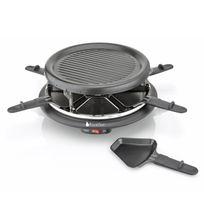 Blackpear - Set à raclette/grill 900W + 6 Poêlons anti-adhésifs