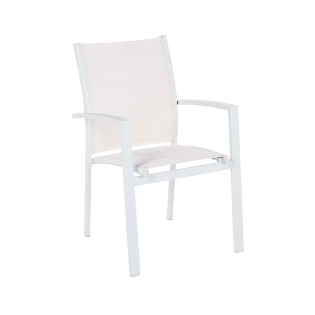 Hespéride Fauteuil Azua blanc/blanc