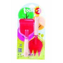 Dogo - 40903 - Outillage De Jardin Pour Enfant - Outils De Jardinage Enfant Les 2 Coccinelle