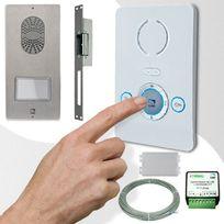 CAME - Interphone audio BIANCA PLACO TOP adapté installations 001CK0003PLUS