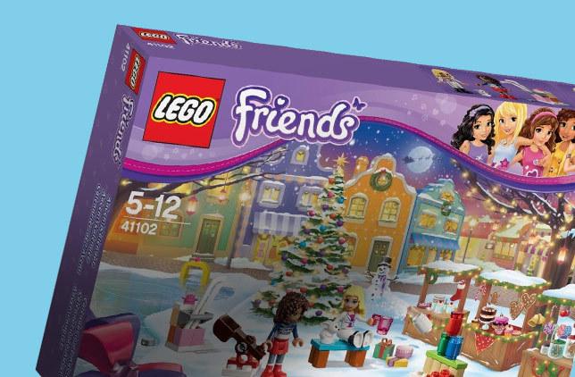 Boutique calendrier avent lego friends