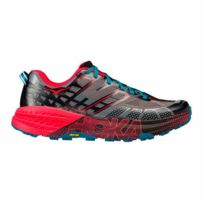 Hoka One One - Chaussures Speedgoat 2 noir rouge