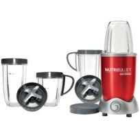 NUTRIBULLET - blender 0.95l 600w rouge + kit accessoires - pack nutri600r kit
