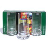 Arc - Chopes hautes x 3 en verre Cordage 33 cl