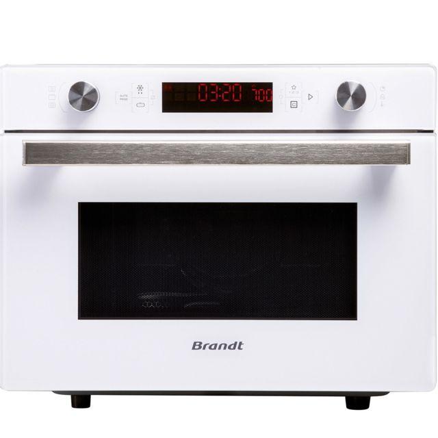 Brandt - Four Micro-ondes combiné CE3610W Blanc