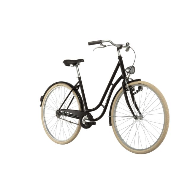 Ortler - Vélo Enfant - Detroit Limited - Vélo de ville Femme - noir