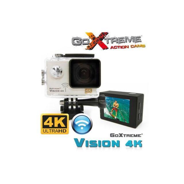 mkt cam ra easypix action vision 4k ultra hd blanc pas. Black Bedroom Furniture Sets. Home Design Ideas