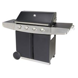 hyba barbecue gaz hg400 pas cher achat vente barbecues gaz rueducommerce. Black Bedroom Furniture Sets. Home Design Ideas