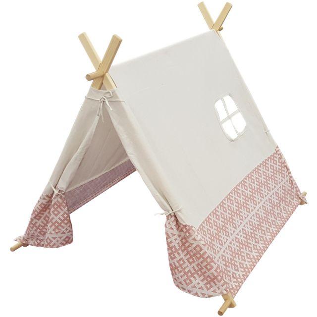 Promobo - Tente Indienne En Lin Déco Chambre Enfant 110 x 107 x H106 ...