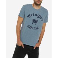 T-Shirt Overdye - Bleu