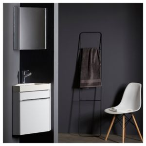 planetebain lave mains d 39 angle complet pour wc avec meuble design blanc pas cher achat. Black Bedroom Furniture Sets. Home Design Ideas