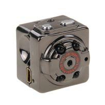 Wewoo - Mini caméra Full Hd 1080P 30fps Poche Numérique Caméscope Ultra-Mini Métal Dv avec Ir Vision Nocturne, Motion Détection