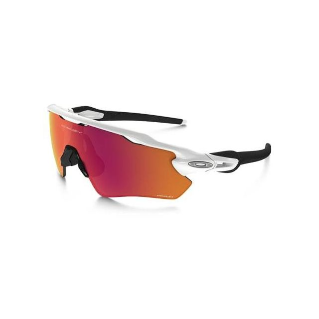 a40b38af66208 Oakley - Lunettes Oakley Radar Ev Xs Path blanc brillant avec verres Prizm  Outfield enfant