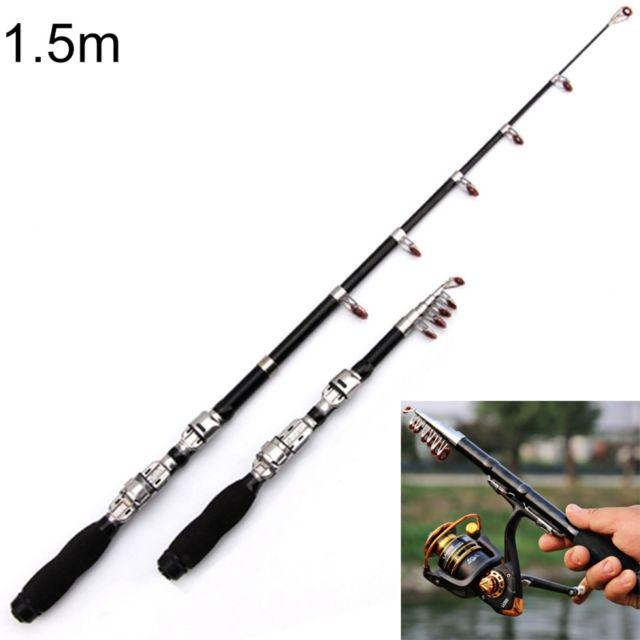 Wewoo - Cannes à pêche Mini canne à télescopique portable 32 cm à pêche 96c7ba337f8