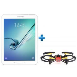 Samsung - Galaxy Tab S2 - 9,7'' - 32 Go - Blanc + Minidrone Parrot avec lumières