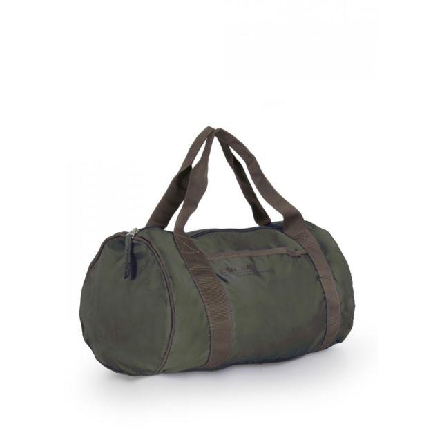 BENSIMON Sac de voyage Color Bag vert kaki Idéal pour un sac week-end ou un sac de sport !