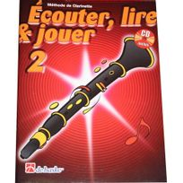Dehaske - Ecouter lire et jouer Clarinette Vol. 2 +CD