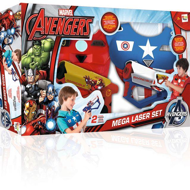 MARVEL AVENGERS - Set Méga Laser - 390119