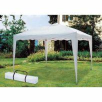 topdeco tonnelle pliable 3x3 m taupe avec housse pas cher achat vente parasols rueducommerce. Black Bedroom Furniture Sets. Home Design Ideas