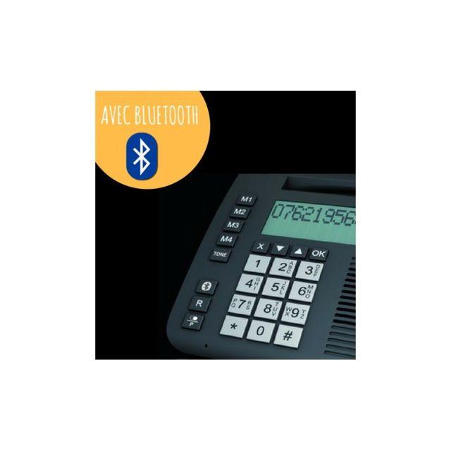 Humantechnik - Téléphone filaire Flashtel comfort 3