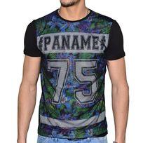 Doger Wear - T Shirt Manches Courtes - Homme - Sd 77 Paname - Noir