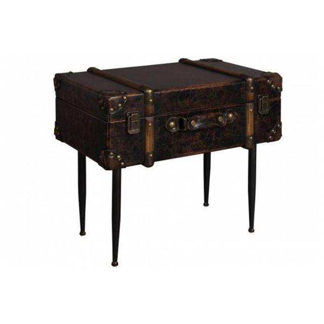 Inside 75 Dutchbone Table d'appoint type malle Luggage