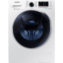 Samsung - Lave linge séchant - WD70K5B10OW - Blanc