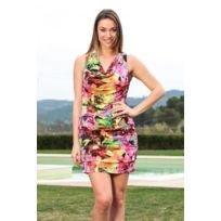 Dresscode - Dress Code Robe Love Look 1553 Rose - 1 acheté = 1 offert