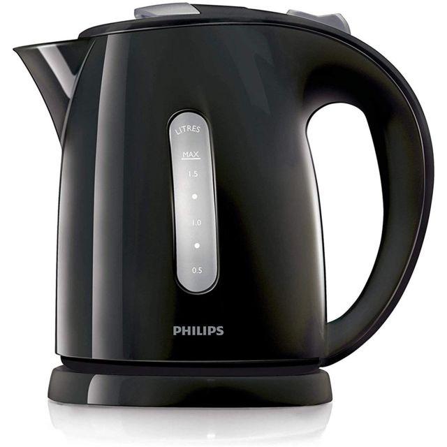 Philips bouilloire électrique de 1,5L 2400W noir