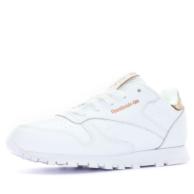 Reebok - Classic Leather Fille Chaussures Blanc Multicouleur 28