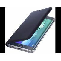 Bigben Connected - Flip wallet Noir S6 Edge
