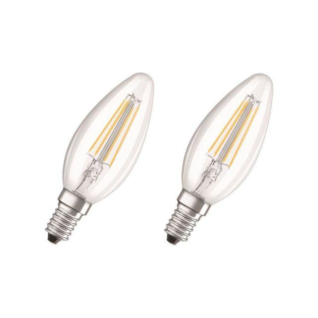 A 40 Blanc E14 De 2 Flamme Claire Led 4 Équivalent Lot Ampoules W Chaud O80nwPkX