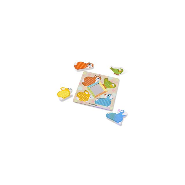 Melissa And Doug Puzzle animaux à toucher