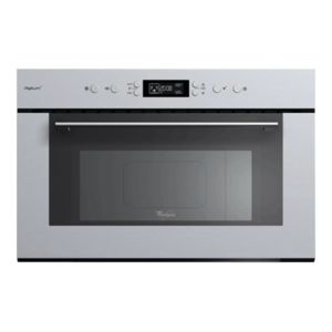 whirlpool micro ondes gril encastrable 31l 1000w inox. Black Bedroom Furniture Sets. Home Design Ideas