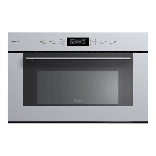 whirlpool micro ondes gril encastrable 31l 1000w inox amw931ixl achat four micro onde. Black Bedroom Furniture Sets. Home Design Ideas