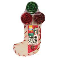 Armitage - Friandises Sucettes de Noël avec Mini Chaussette pour Chiens 70g