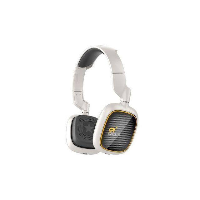 ASTRO GAMING ASTRO A38 Blanc Le A38 combine une faible latence Bluetooth APTX à une haute fidélité AAC ainsi qu'à la technologie de suppression active du bruit pour vous offrir une expérience sans-fil ultime.