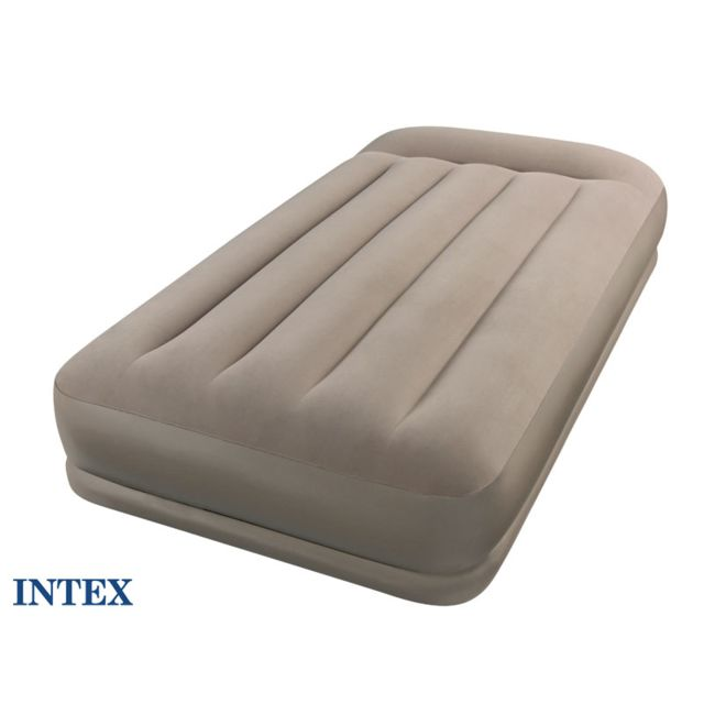INTEX Matelas gonflable Mide Rise 1 place
