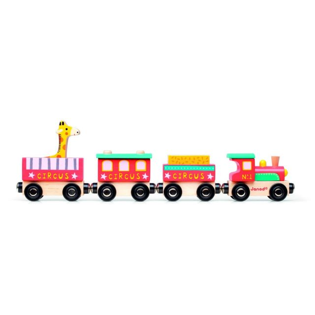 Janod Train Story Circus