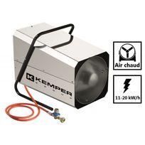 Kemper - Générateur d'air chaud réglable 11 à 20 kW/h