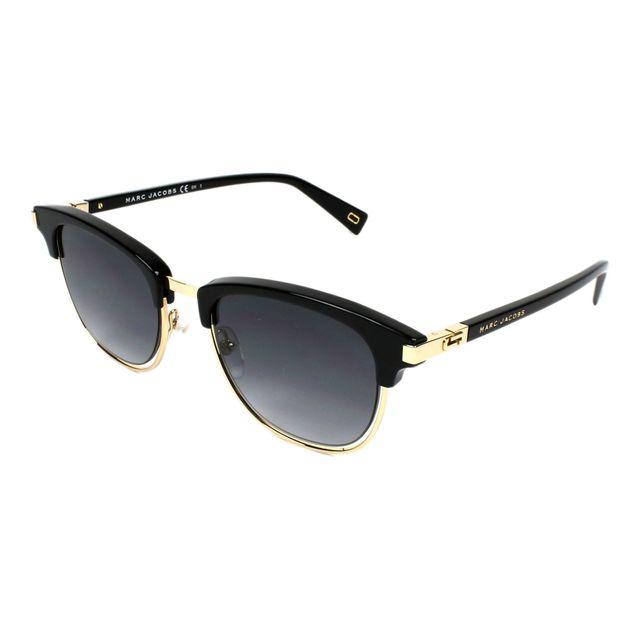 366e8e000f4e5 Marc Jacobs - Lunettes de soleil Marc-171-S 2M2 9O Femme Noir - pas ...