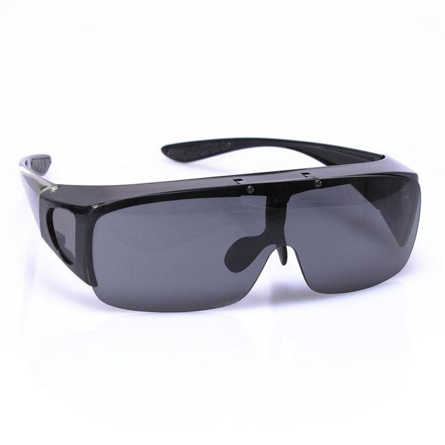 Vitaeasy - Surlunettes de soleil verres repliable gris - pas cher ... a0241cbe1c66