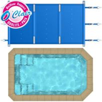 Piscine Center O'CLAIR - Bâche à barres Pool-Barres Plus rectangle pour piscine coque Piscine Provence Polyester Micro-Pool
