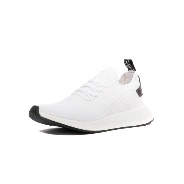 save off f12fd 52c9f Adidas originals - NmdR2 Primeknit Homme Chaussures Blanc Adidas