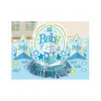 Amscan International - Décorations de table Baby shower garçon