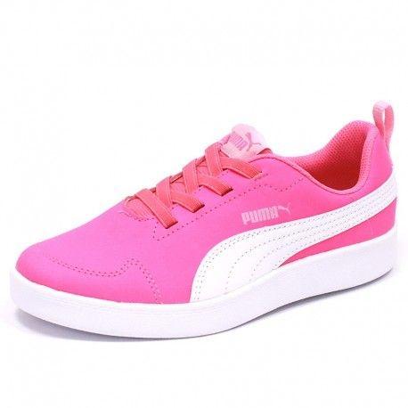 119a3f56b6bfa Puma - Chaussures Courtflex Inf Rose Fille - pas cher Achat   Vente ...