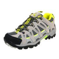 Lhoste - Chaussures marche randonnées Hermine gris/anis Gris 61085